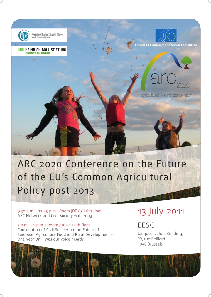 The official poster of the second ARC Conference on 13 July
