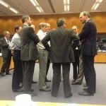 Tired men in final talks