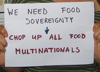 Joint statement on food sovereignty
