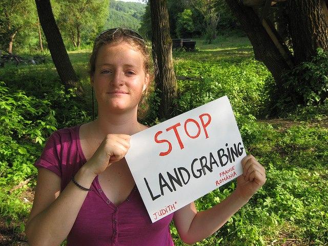 stop landgrabbing