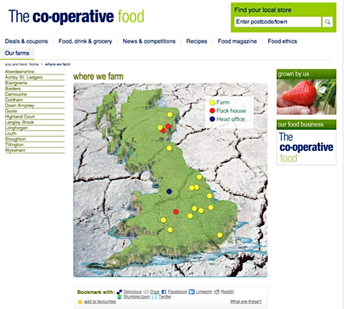 UK Cooperative in fire sale of its farms Agricultural and Rural