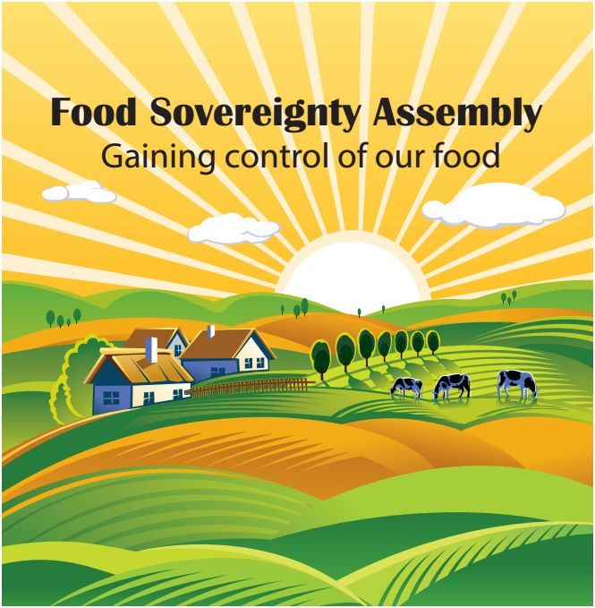 Image from the Food Sovereignty Ireland event 2015