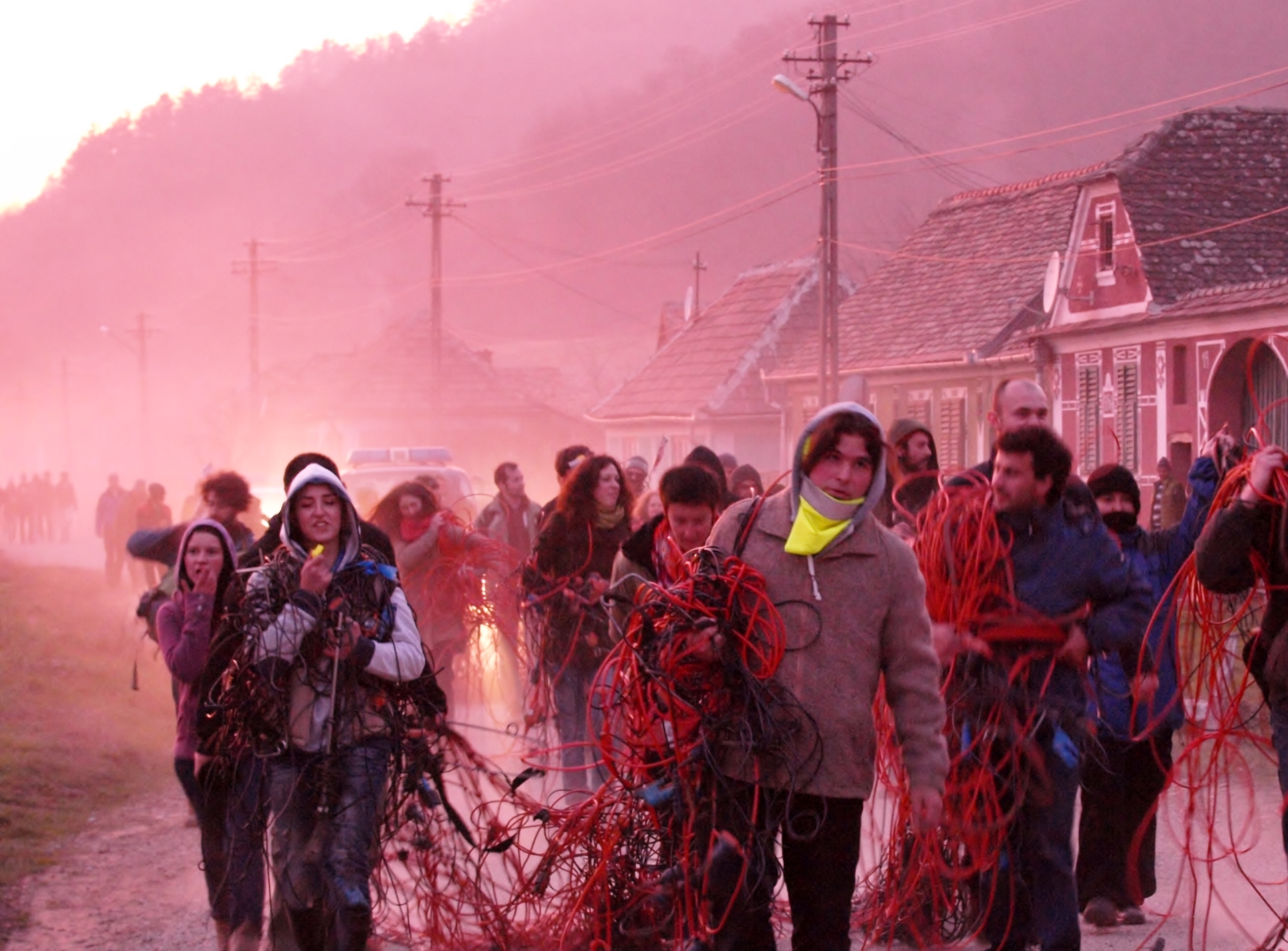 Direct Action Against Fracking 2013 in Romania. Click for more