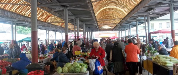 Photo (c) Dana Cizmas taken at a farmers' market in  Arad, Romania (her hometown)