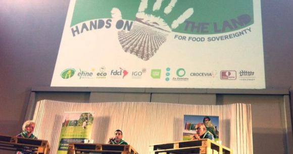 Launch of Hands on the Land