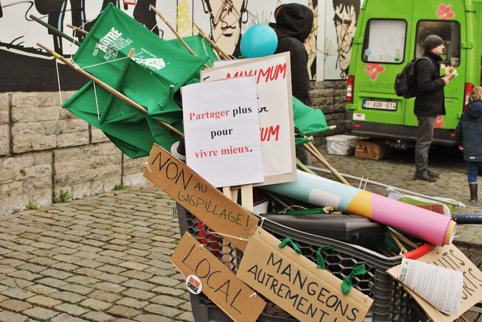 belgium farm protest