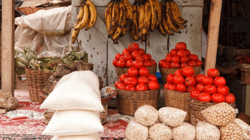 Food Market Accra