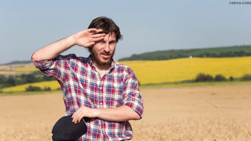Farmer in Bulgaria