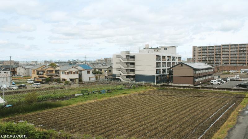 Rural town in Nara, Japan